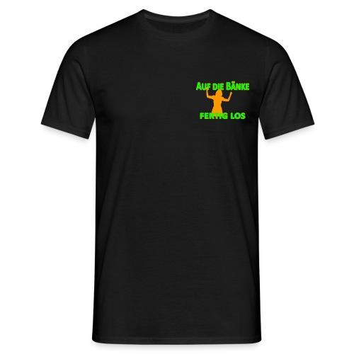 Auf die Bänke Shirt 1 - Männer T-Shirt