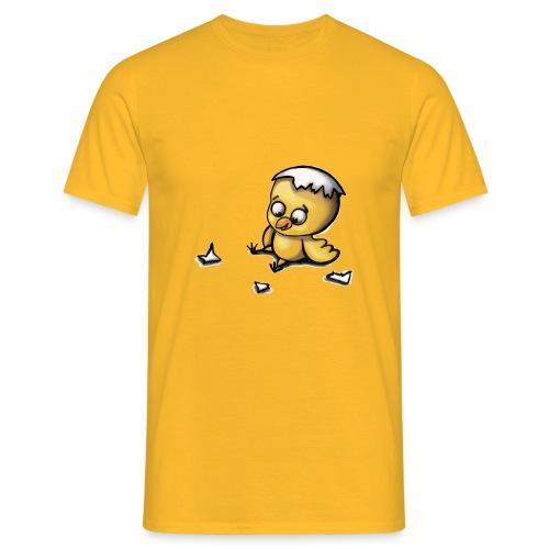 Blindes Huhn (Küken) - Männer T-Shirt