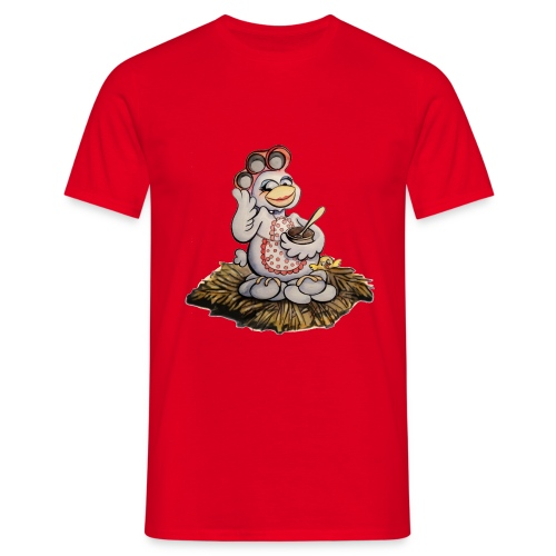 Blindes Huhn (Glucke) - Männer T-Shirt