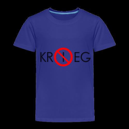 TIAN GREEN Shirt Kids - Kein Krieg - Kinder Premium T-Shirt