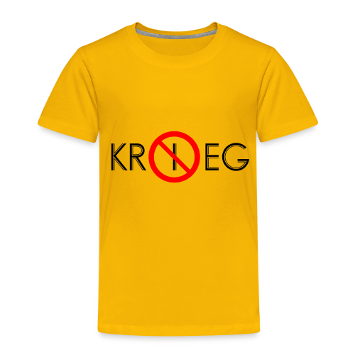 TIAN GREEN Shirt Kids - Kein Krieg - Kinder Premium T-Shirt