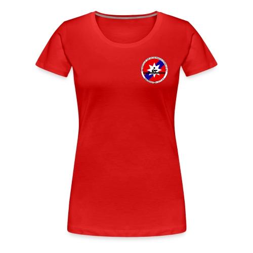 RCKG T-Shirt 2015 Frauen rot - Frauen Premium T-Shirt