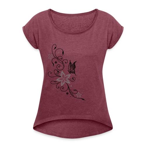 T-shirt Hi5 - T-shirt à manches retroussées Femme