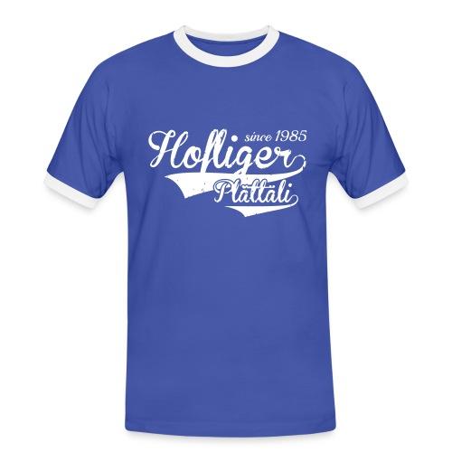 Hofliger-1b-0 - Männer Kontrast-T-Shirt