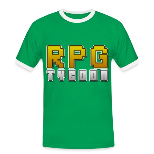 RPG Tycoon - Premium Shirt - Men's Ringer Shirt