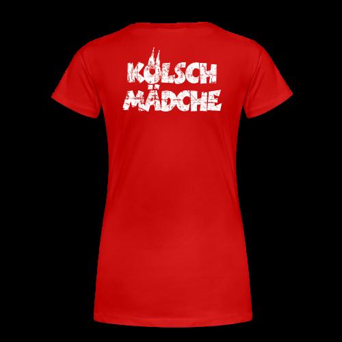 Kölsch Mädche (Vintage Weiß) S-3XL Köln T-Shirt - Frauen Premium T-Shirt