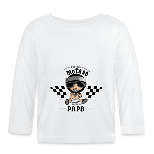 tee shirt futur motard - T-shirt manches longues Bébé