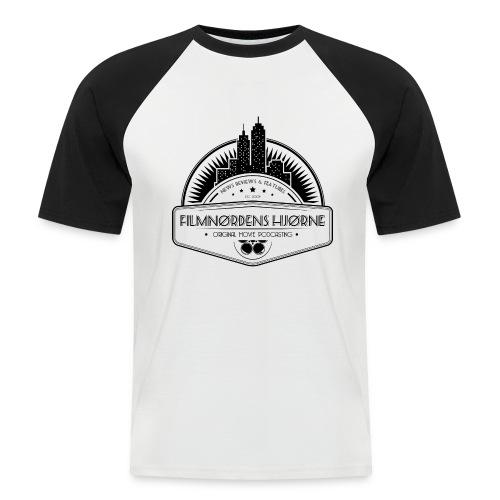 Skyline t-shirt (M) - Kortærmet herre-baseballshirt