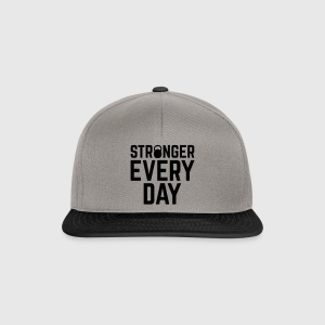 Stronger Every Day Kasketter & Huer - Snapback Cap