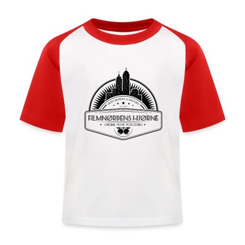 Skyline t-shirt til børn (M/K) - Baseball T-shirt til børn