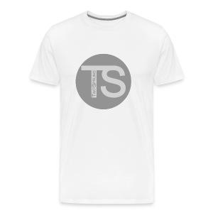 TaktSprung Shirt WHT - Männer Premium T-Shirt