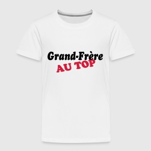 Grand-frère au top Tee shirts - T-shirt Premium Enfant