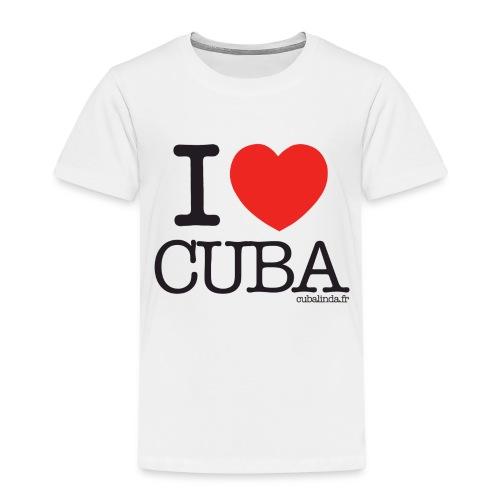 Tee-Shirt I love Cuba enfant - T-shirt Premium Enfant