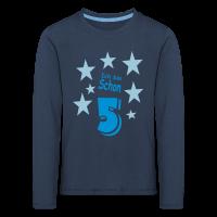 Ich bin schon 5 Langarm-Shirt