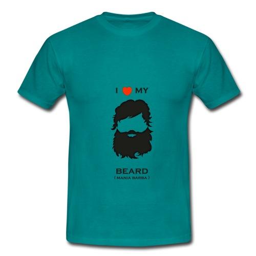 t-shirt I love my beard - Maglietta da uomo