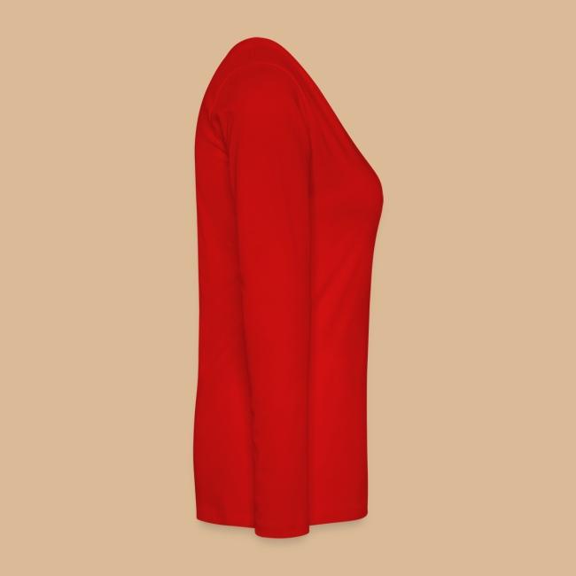 Damen Biom Langarm Rot oder andere Farbe