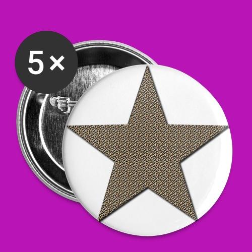 sternbutton - Buttons klein 25 mm