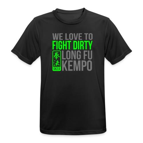 FIGHT DIRTY 3 - mannen T-shirt ademend