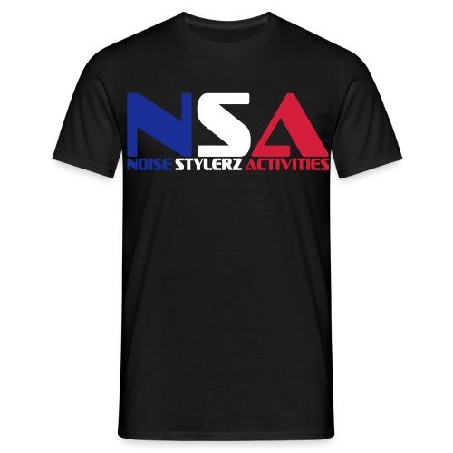 T-shirt  NSA France - T-shirt Homme