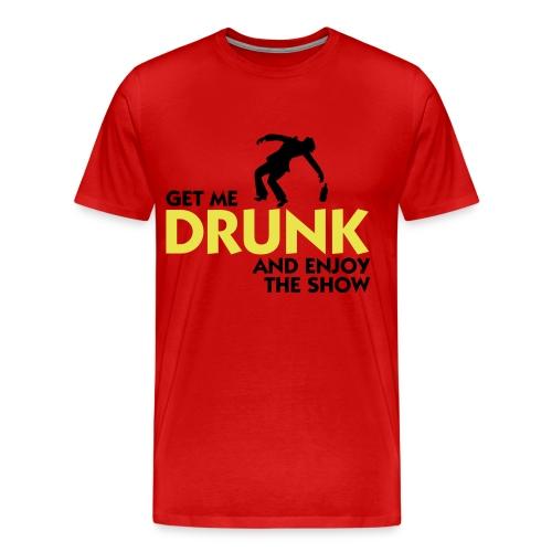 Drunk Shirt - Männer Premium T-Shirt