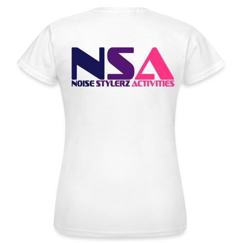 T-shirt Femme NSA - T-shirt Femme