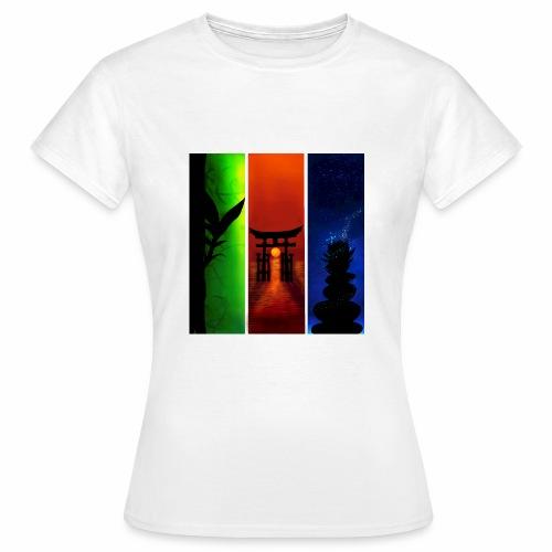 De LiTi-Asien stil - Frauen T-Shirt