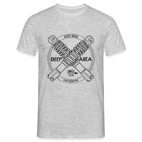 Deep Area Shirt Grey - Männer T-Shirt