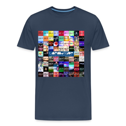Cinematique 'CIN5Y' Male (Navy) - Men's Premium T-Shirt