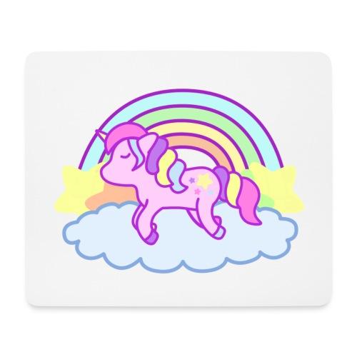 Tapis de souris Rainbow Unicorn - Tapis de souris (format paysage)