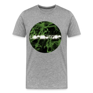 Cinematique 'Green Flashes' Male (Grey) - Men's Premium T-Shirt