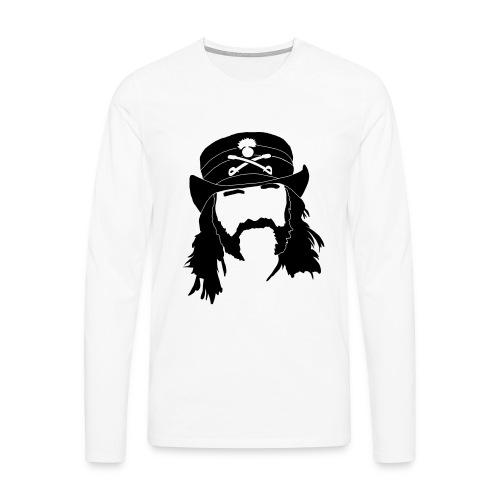 Lemmy langærmet t-shirt til herrer - Herre premium T-shirt med lange ærmer