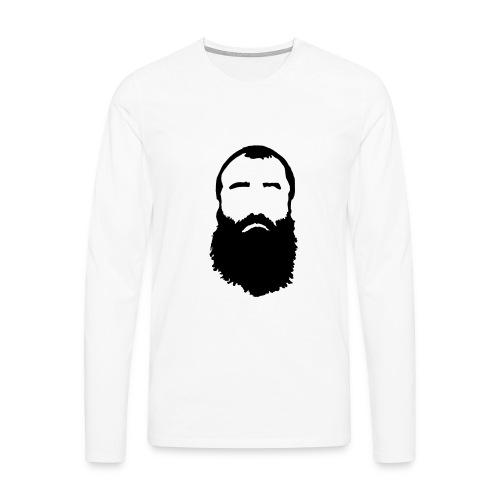 Vincent langærmet t-shirt til herrer - Herre premium T-shirt med lange ærmer