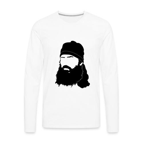 Fred langærmet t-shirt til herrer - Herre premium T-shirt med lange ærmer