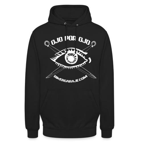 Ojo por ojo - Sudadera con capucha unisex