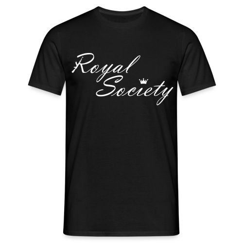 Herren T-Shirt Schwarz: Royal Society - Männer T-Shirt