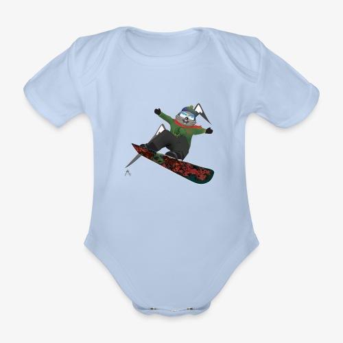 Body Marmotte  - Body bébé bio manches courtes