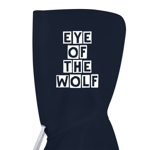 Eye of the Wolf - Kontrast-Hoodie