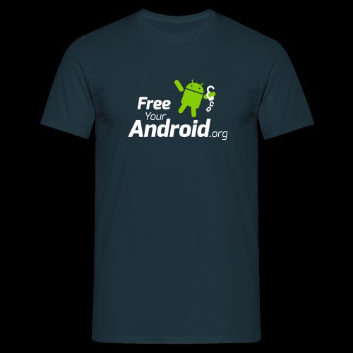 FreeYourAndroid.org - Männer T-Shirt