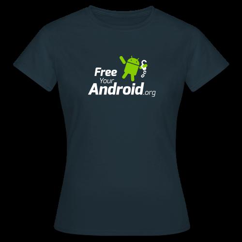 FreeYourAndroid.org - Frauen T-Shirt
