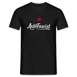 AntiFascist - Männer T-Shirt