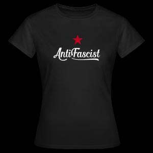 AntiFascist - Frauen T-Shirt