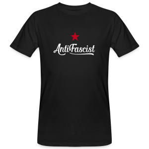 AntiFascist - Männer Bio-T-Shirt