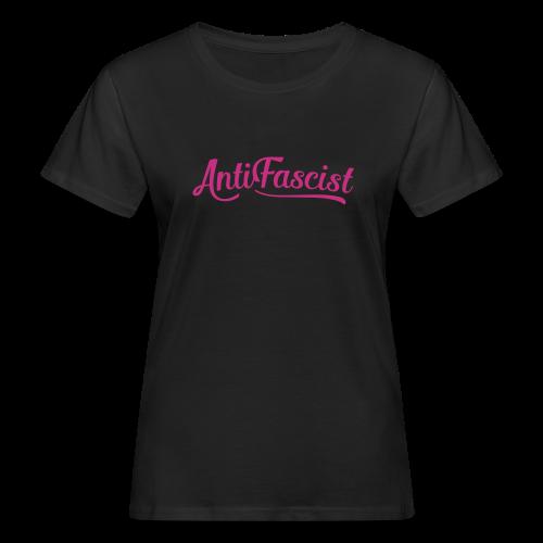 AntiFascist - Frauen Bio-T-Shirt