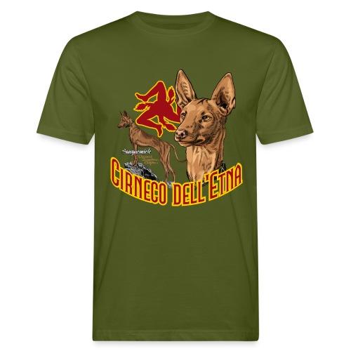 Cirneco dell'Etna - T-shirt ecologica da uomo
