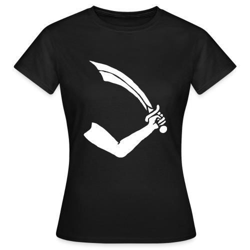 Thomas Tew le pirate - T-shirt Femme