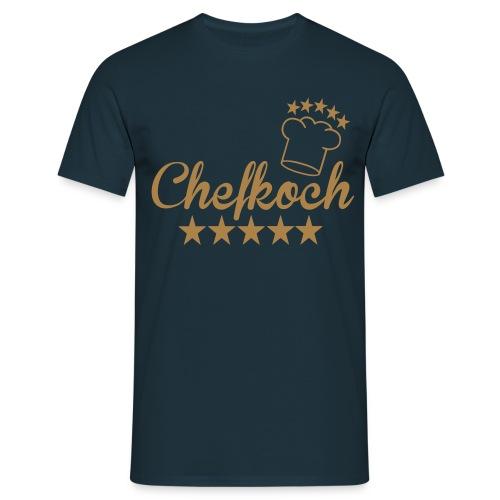 5-Sterne Chefkoch - Männer T-Shirt