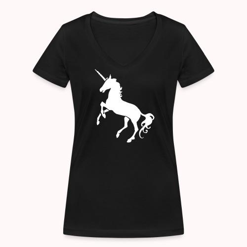 T-Shirt Premium Femme (K&Q Collection) - T-shirt bio col V Stanley & Stella Femme