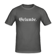 T-Shirts ~ Männer Slim Fit T-Shirt ~ Gelumbe