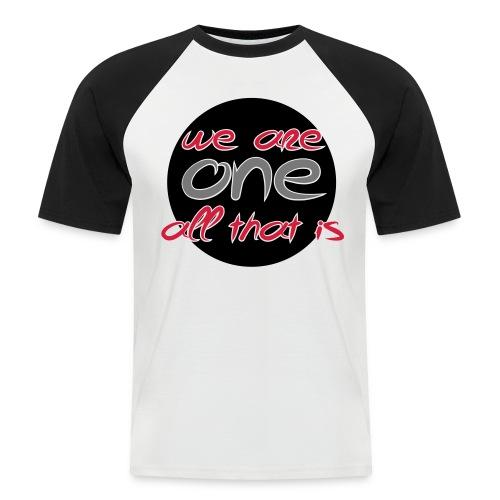 Herre kortærmet basketball-shirt - We are ONE, all that is - Kortærmet herre-baseballshirt