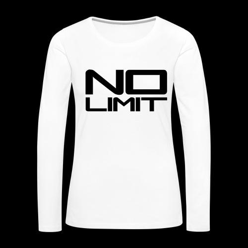 Tee Shirt manches longues  - T-shirt manches longues Premium Femme
